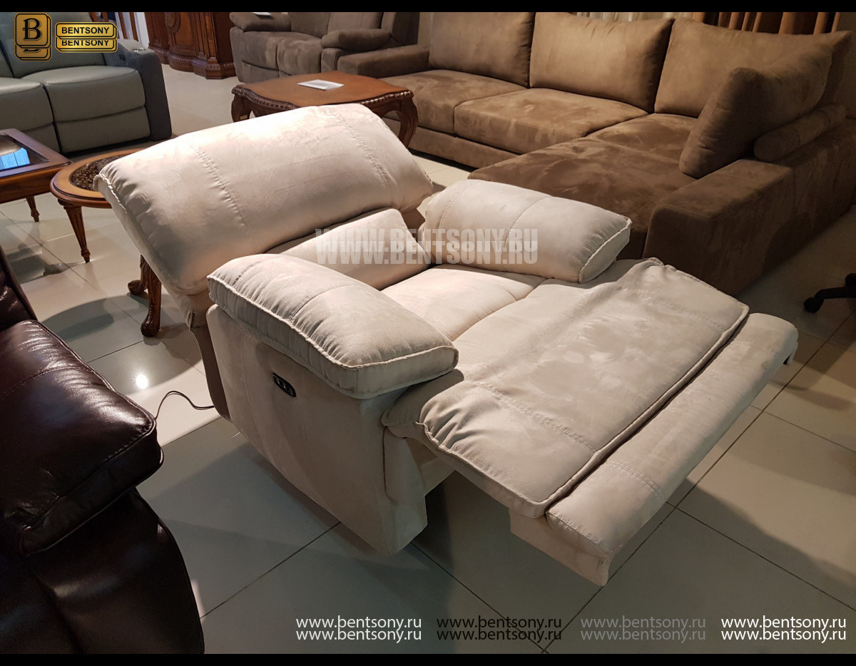 Кресло Капонело с электрореклайнером для квартиры