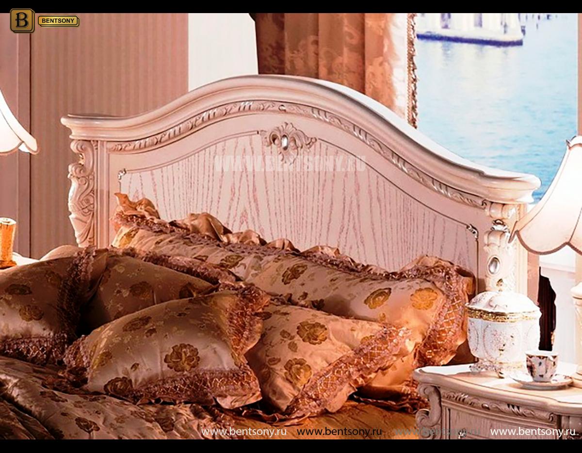 Кровать Вирджиния (Классика, Массив дерева) купить в Москве