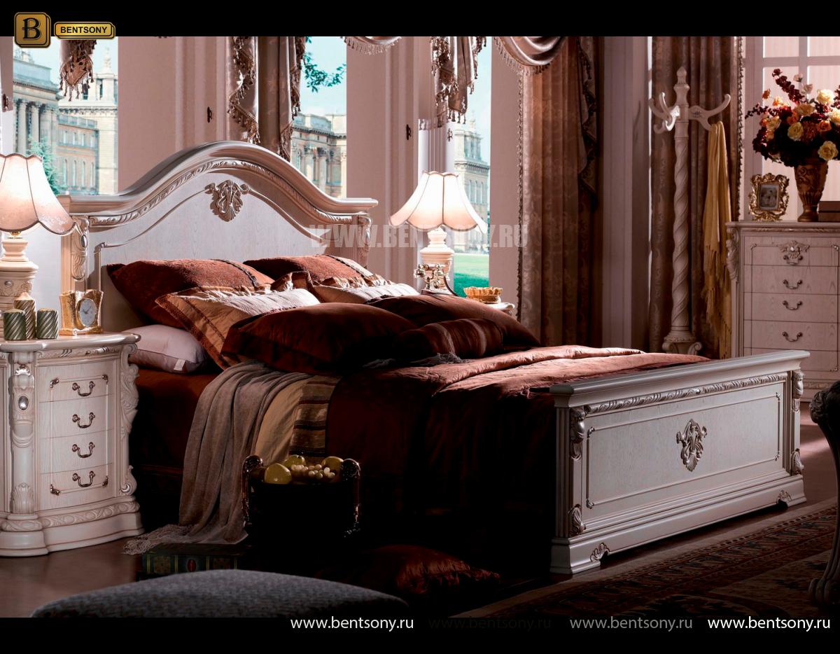 Кровать Вирджиния (Классика, Массив дерева) каталог мебели с ценами