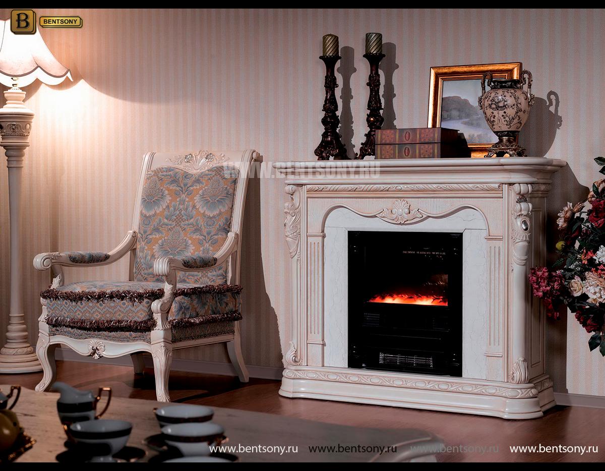 Кресло Вирджиния F (Массив берёзы,ткань, классика) купить в Москве