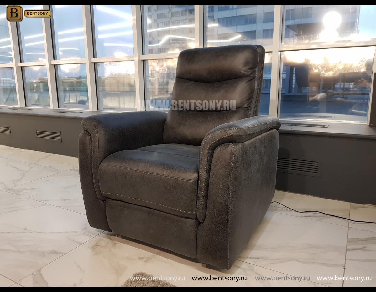Кресло Гредос с электрореклайнером в интерьере