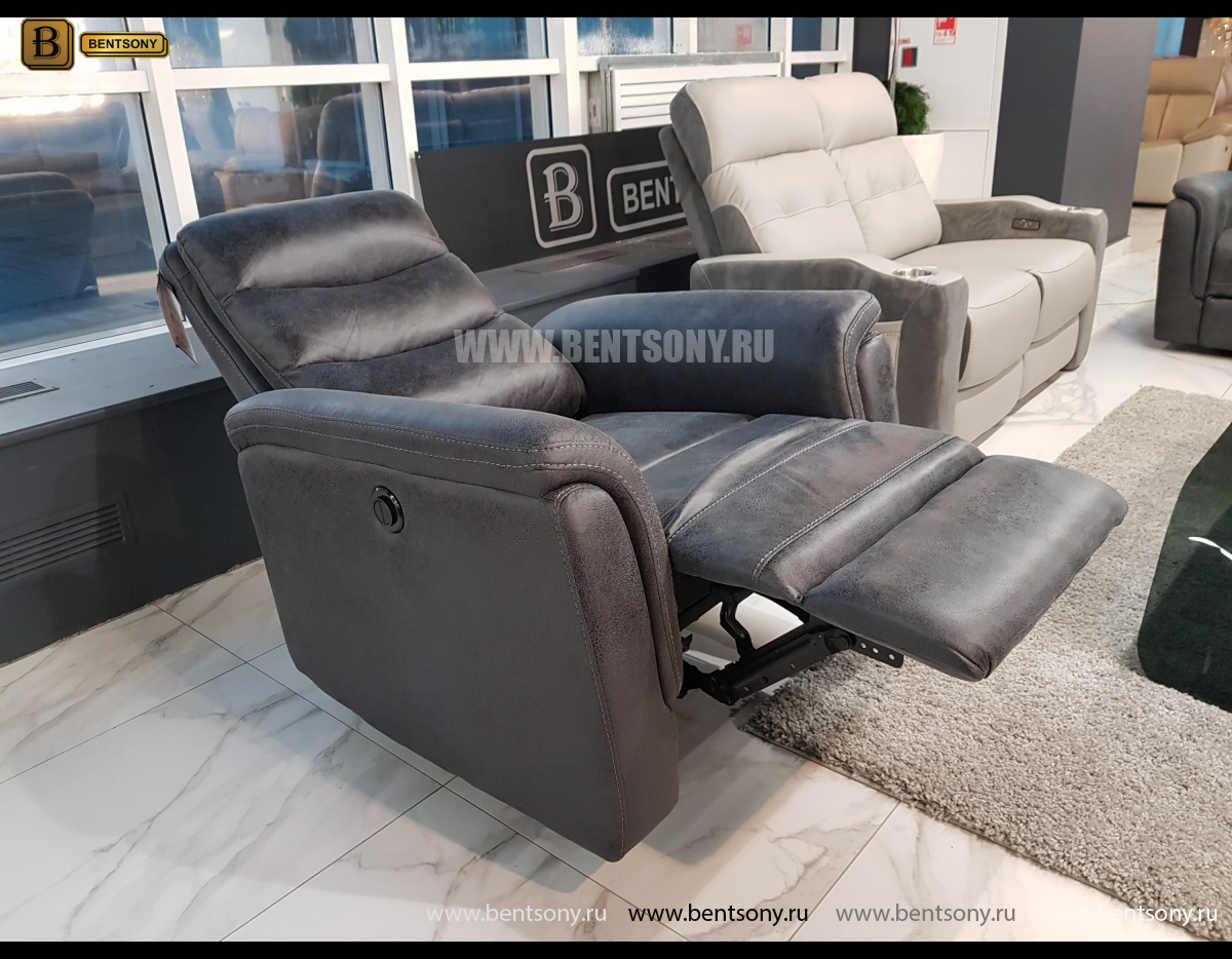 Кресло Гредос с электрореклайнером магазин Москва