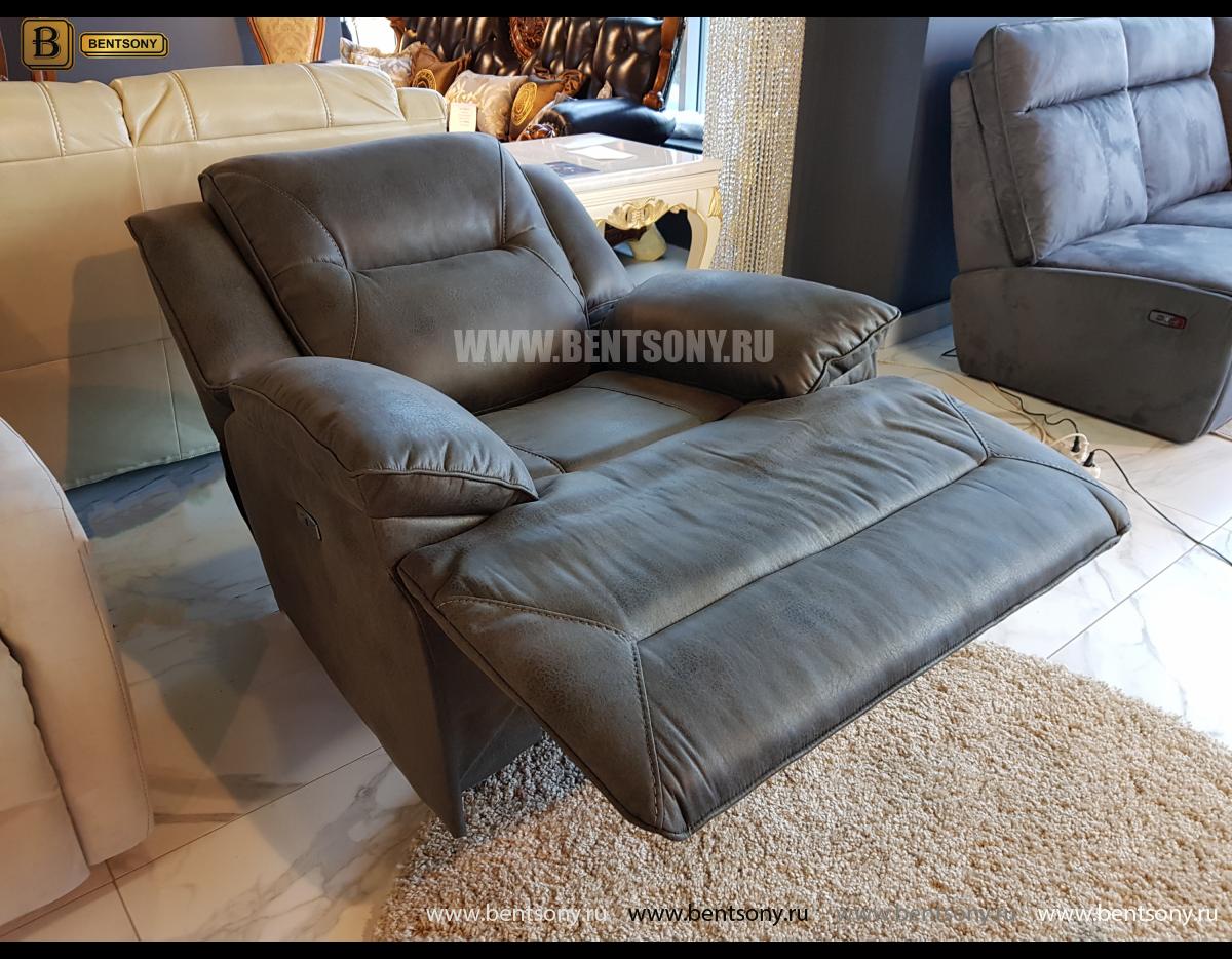 Кресло Бручини с электрореклайнером интернет магазин
