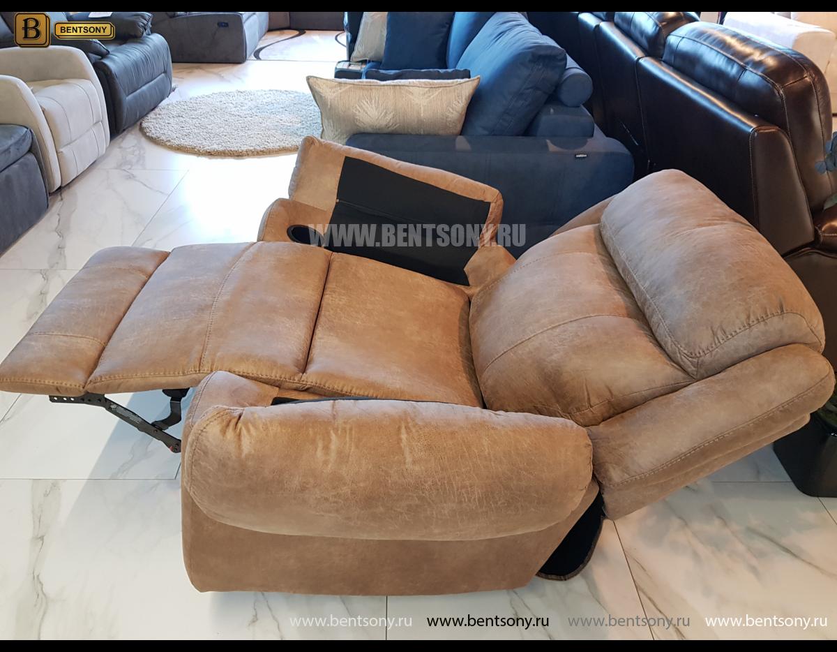 Кресло с реклайнером и глайдером Джиберто купить в СПб