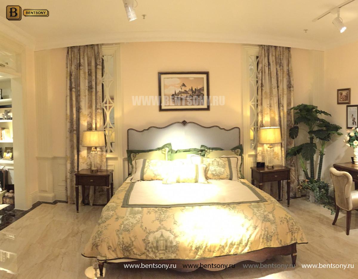 Кровать Фримонт D (Классика, элитная ткань) купить в СПб