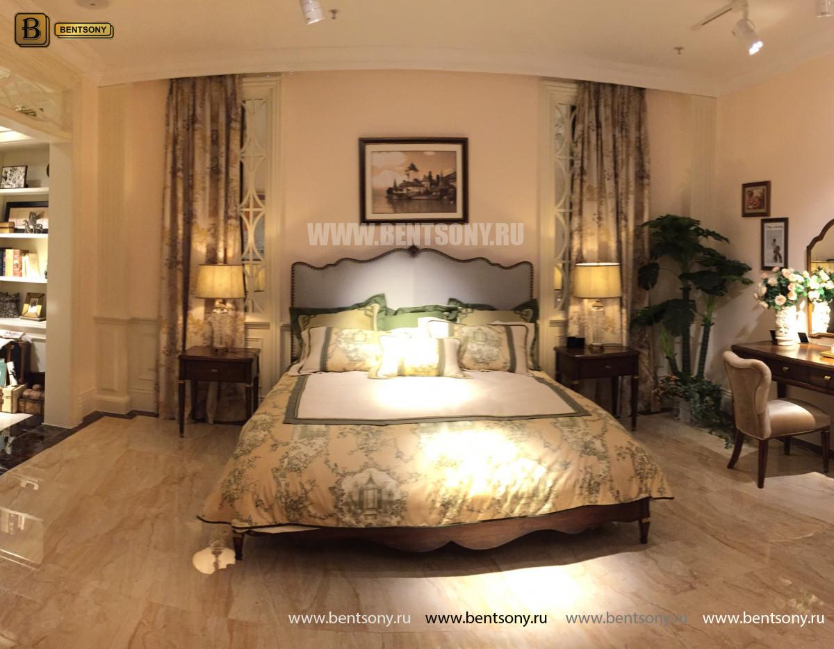 Кровать Фримонт D (Классика, элитная ткань) для квартиры