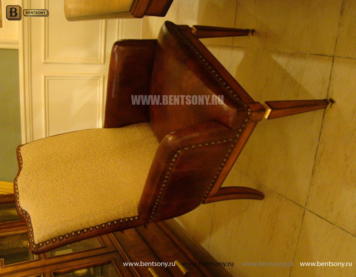 Стул Фримонт А с подлокотниками (Классика, кожа/ткань) каталог мебели с ценами