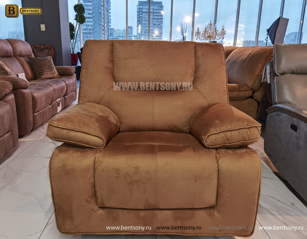 Кресло-реклайнер Прецо с глайдером каталог мебели с ценами