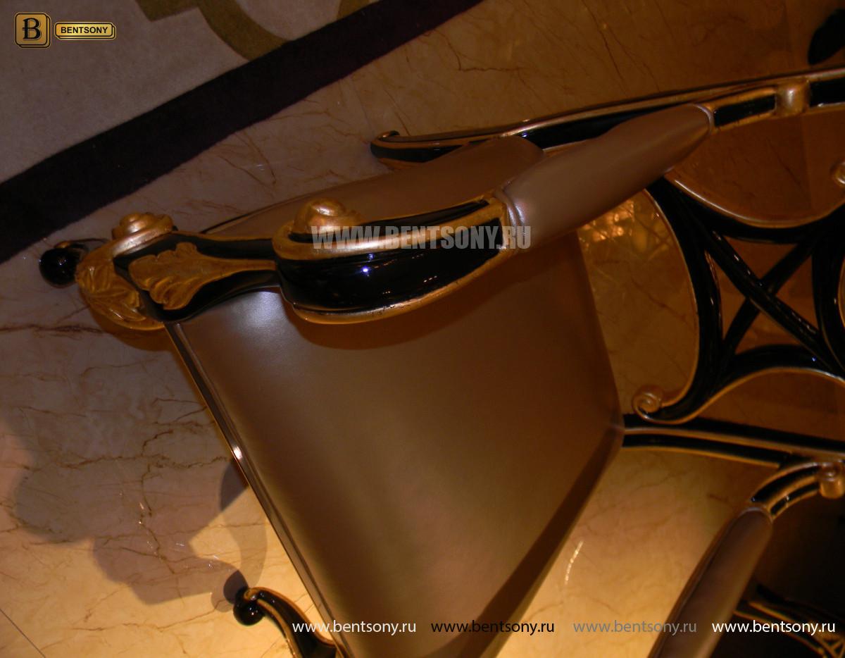 Кресло Конкорд  (Массив дерева, натуральная кожа) каталог с ценами