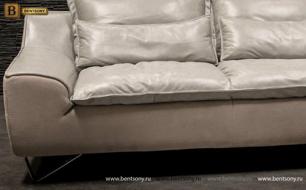 Диван Армандо (Угловой, Кожа Винтаж) каталог мебели с ценами