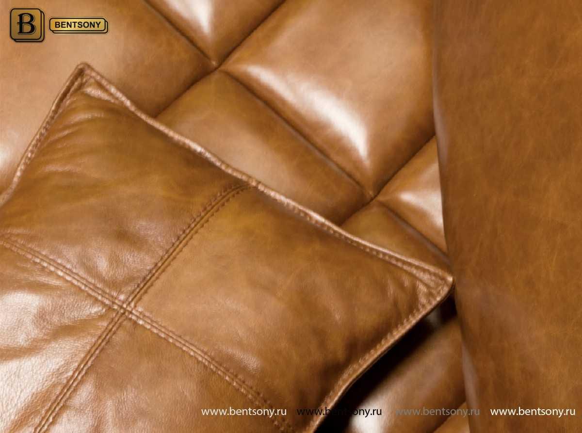 Диван Нунзио (Угловой, Натуральная кожа, Капитоне) официальный сайт цены
