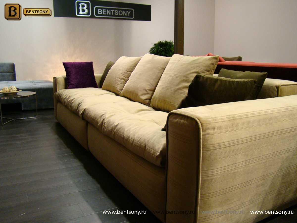 Мягкий диван Beniamino с подушками