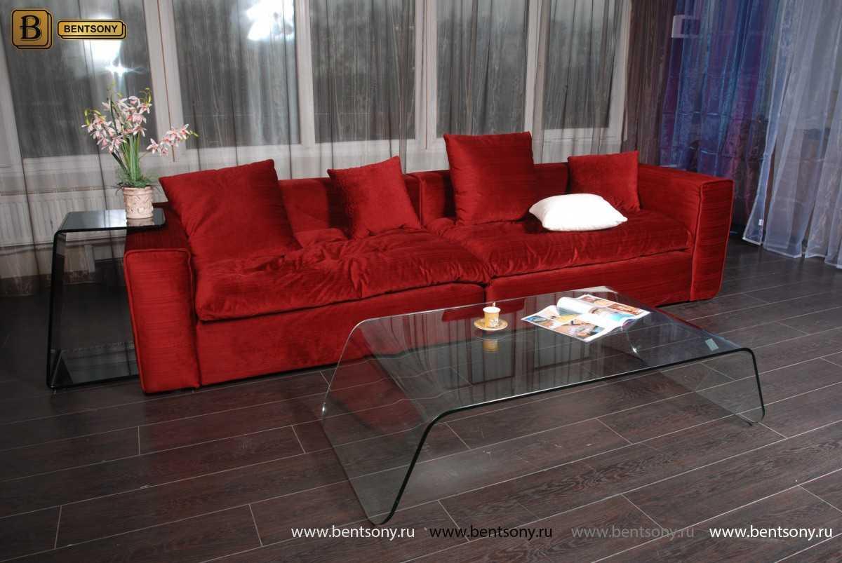 Красный диван Бениамино