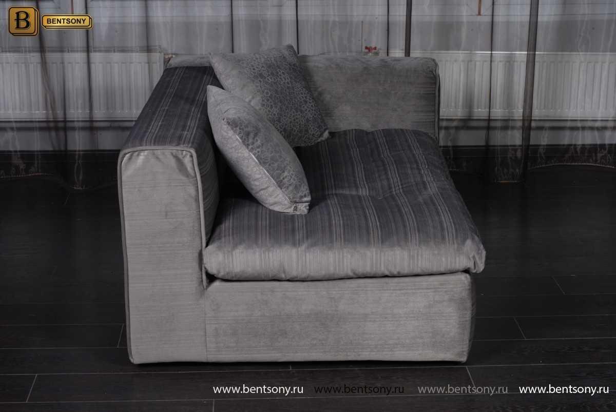 Вид сбоку части дивана Бениамино
