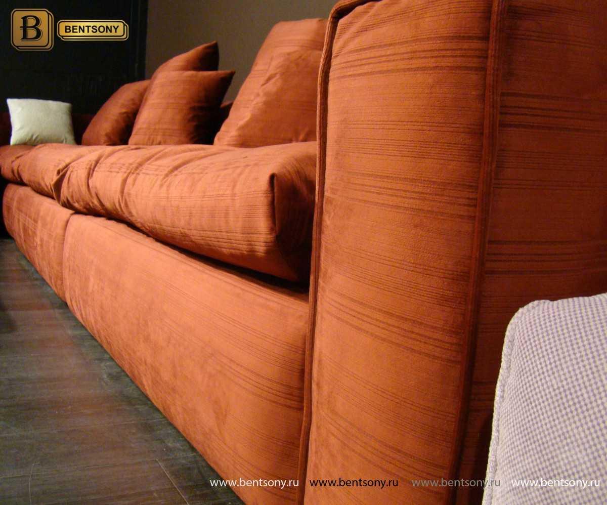 Вариант обивки прямой диван Бениамино