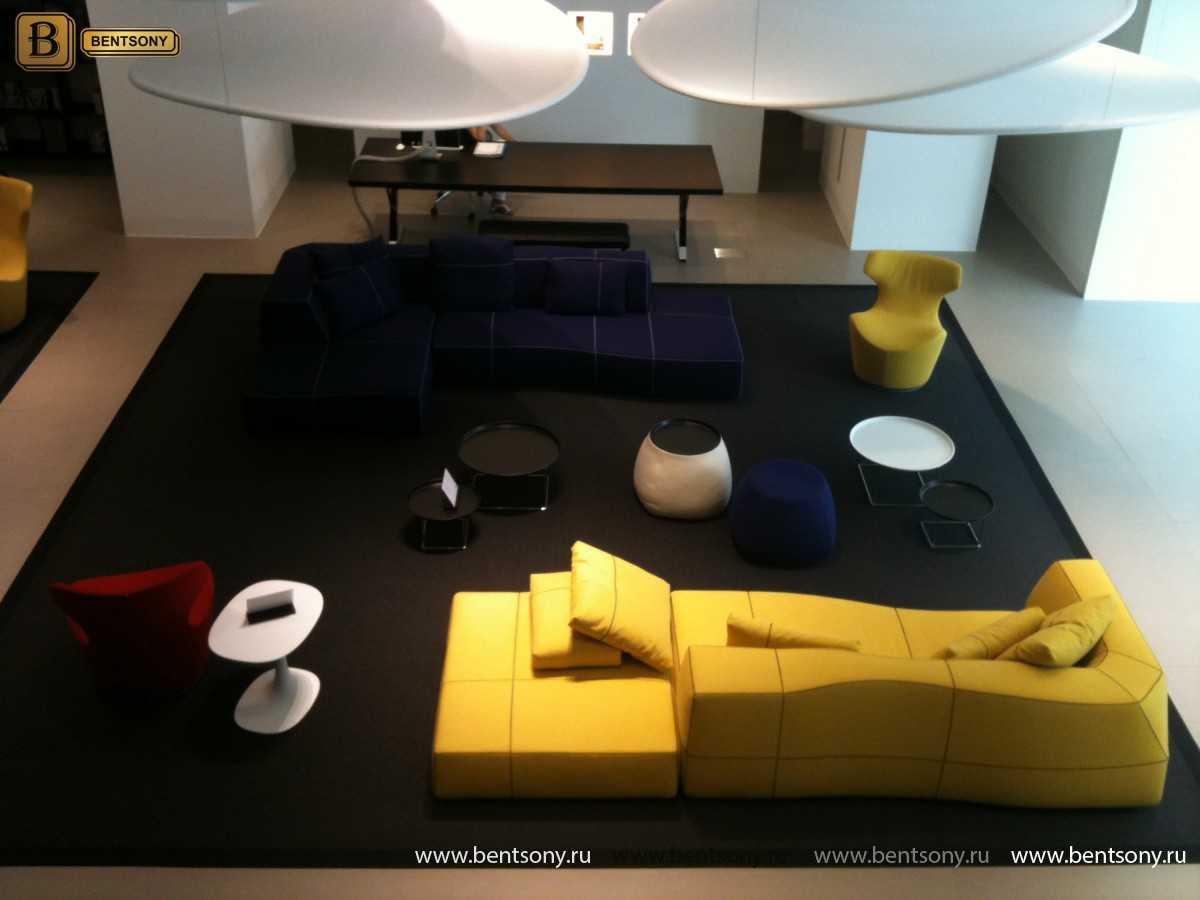 Диван Челини (Угловой, Тканевый) каталог мебели с ценами