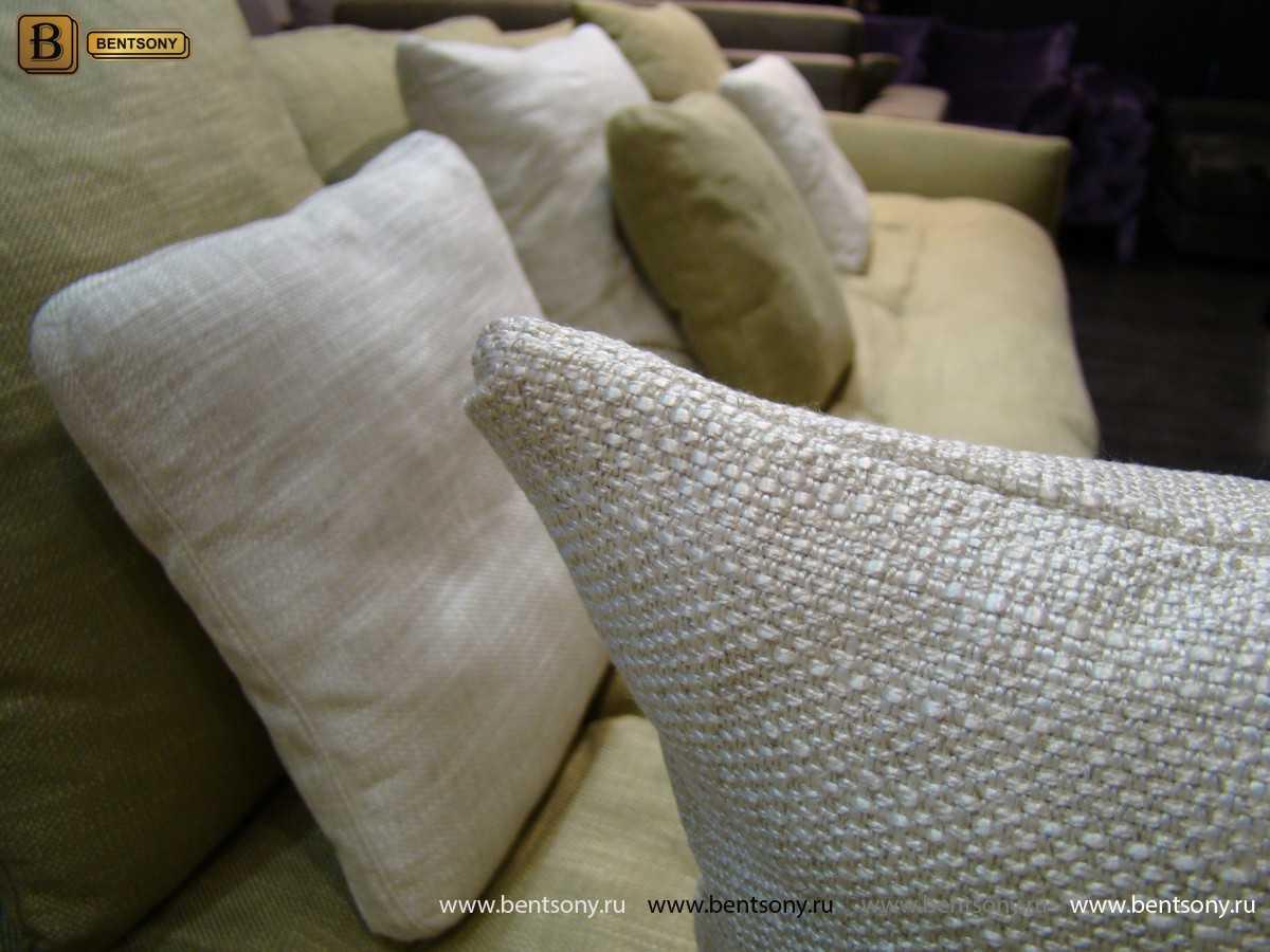 рогожка ткань диван Арлетто