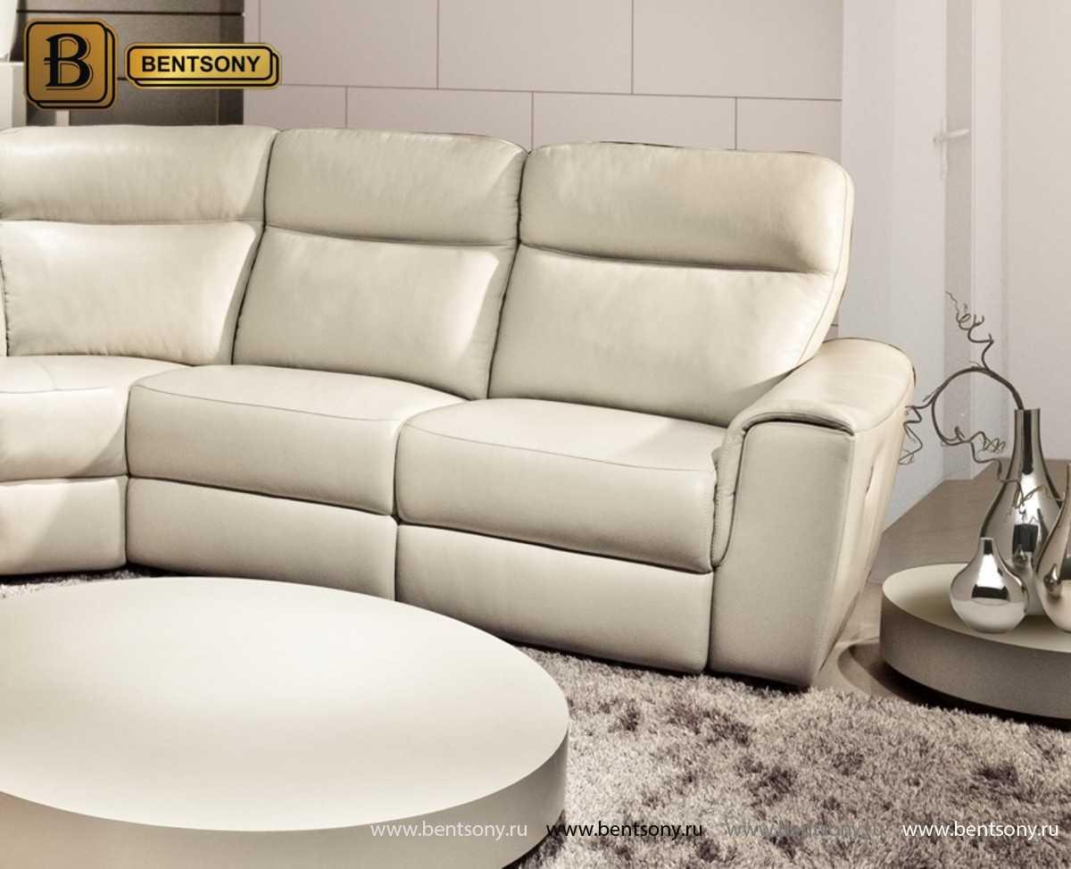кожаная мебель диван Альфредо