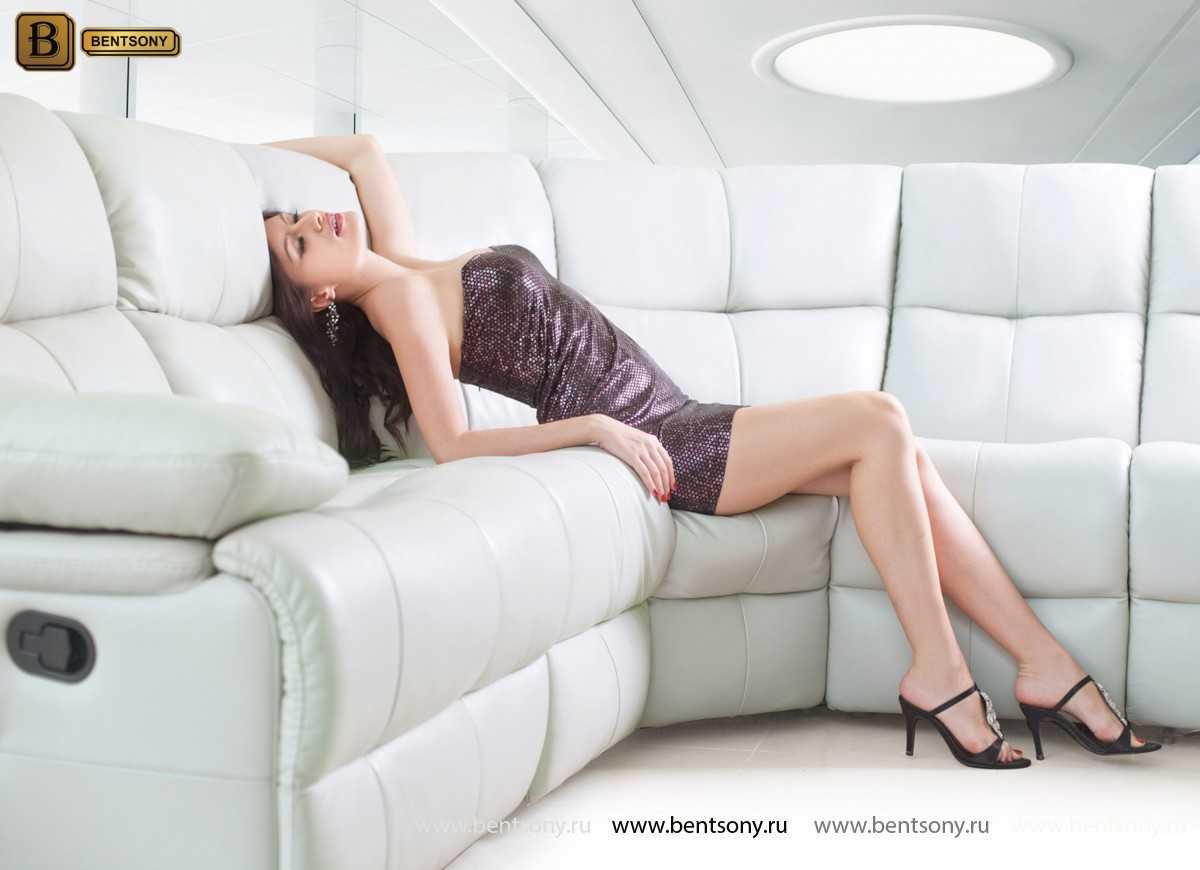 диван Беларди кожа для домашних кинотеатров