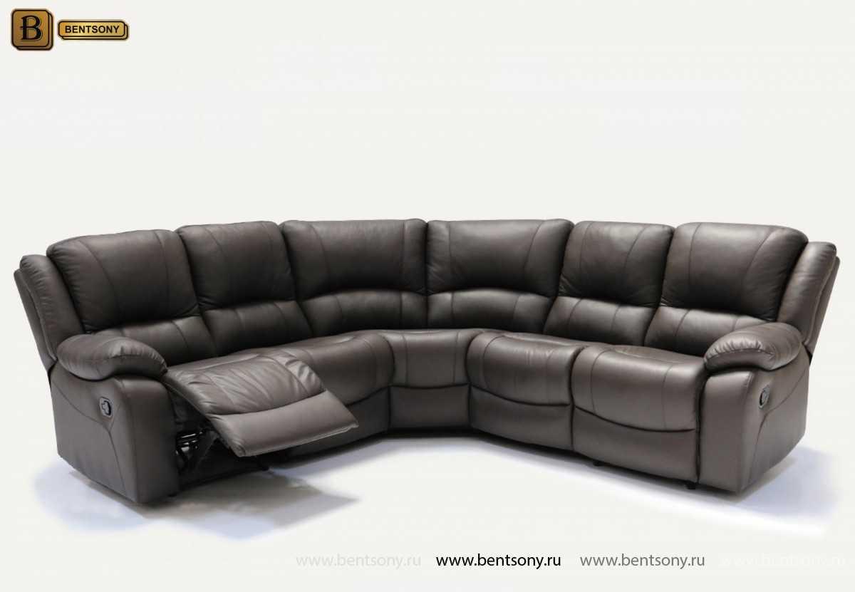 купить угловой диван Левис кожа спб