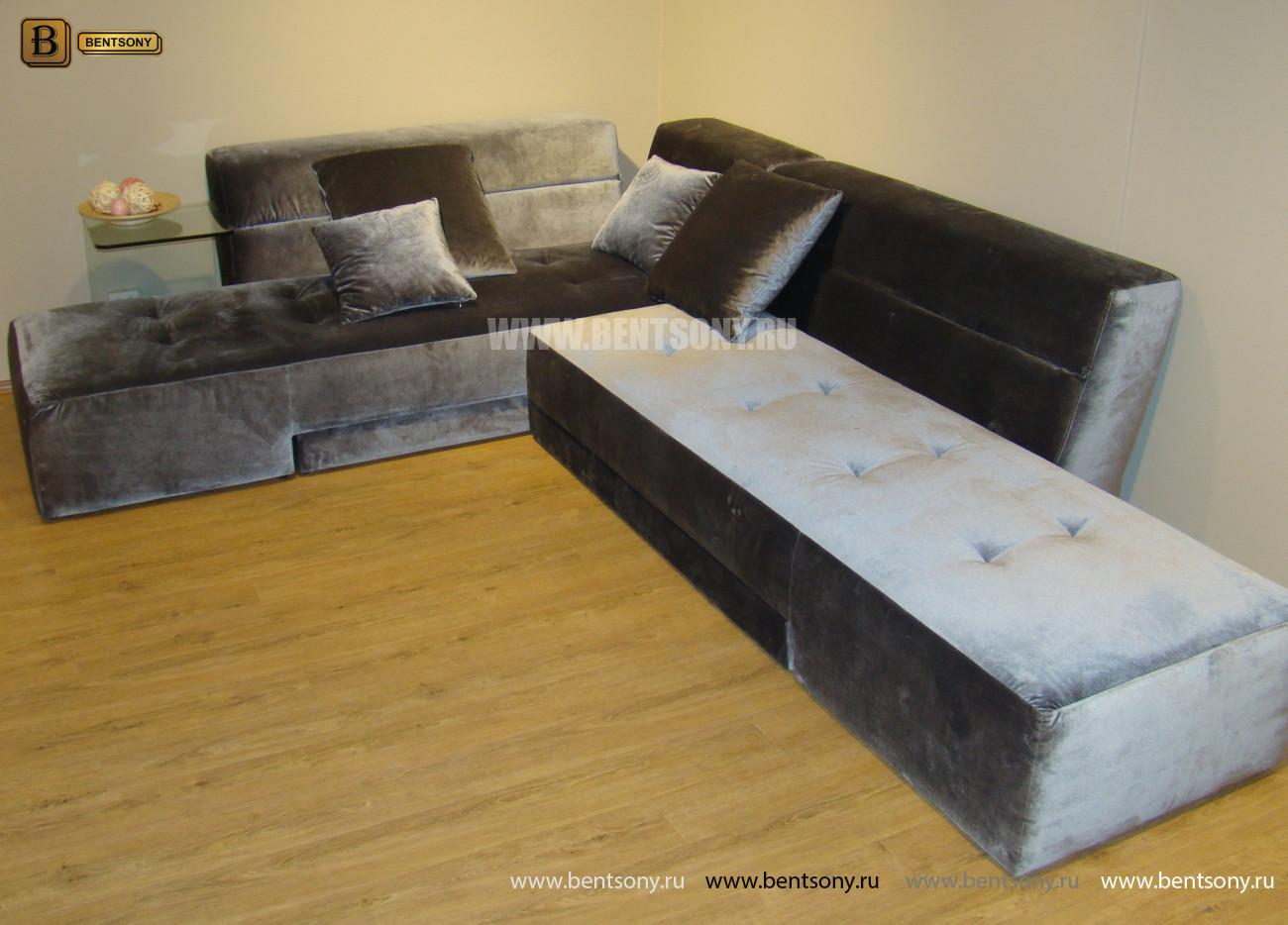 Диван Моранди (Угловой, Велюр) каталог мебели с ценами