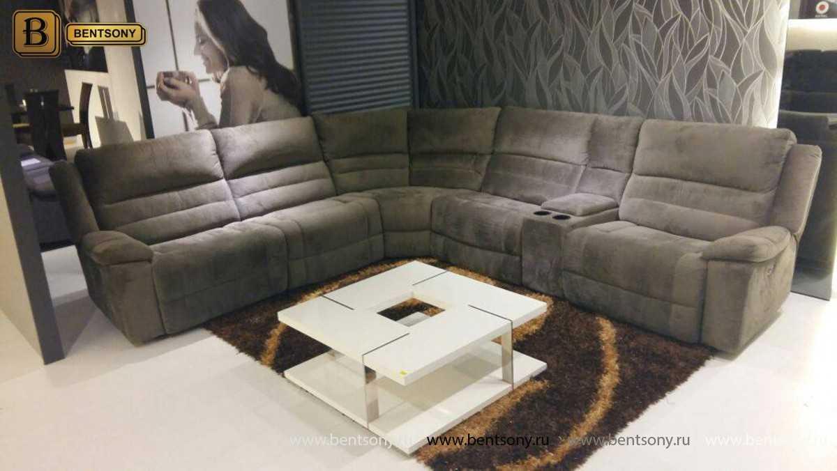 купить угловой диван ткань Ральф