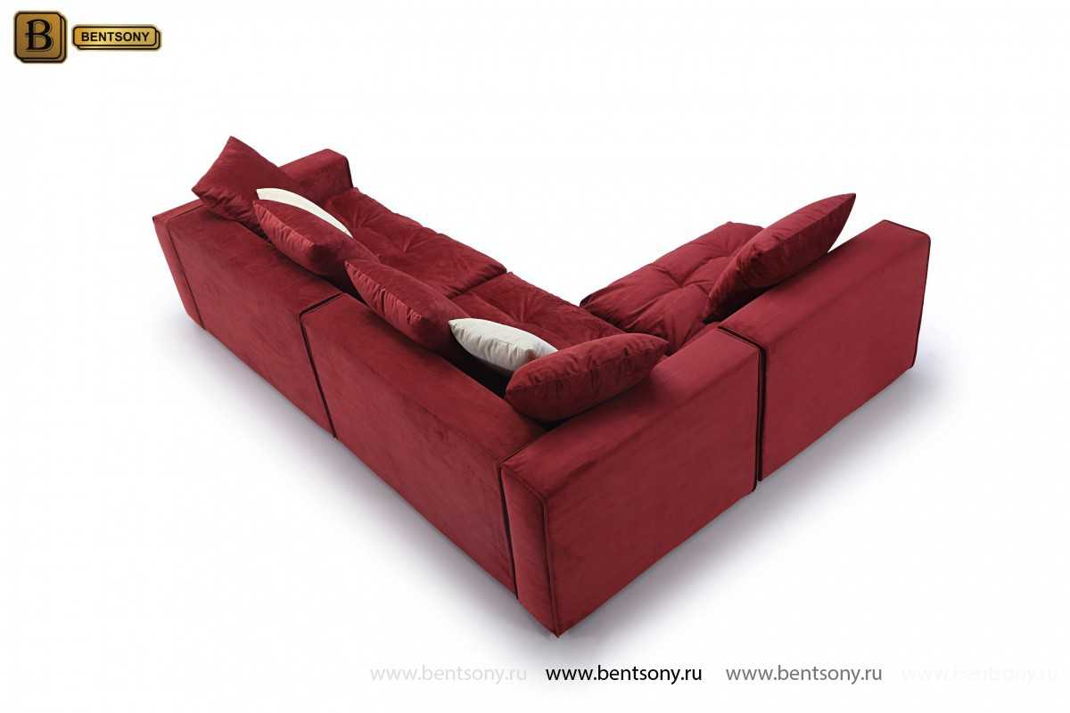 модульный угловой диван Бениамино