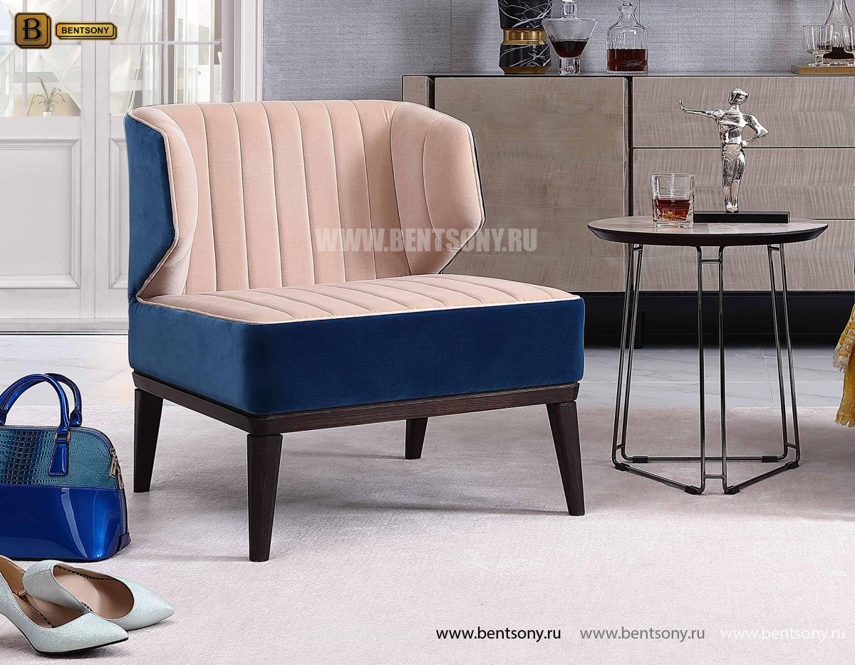 Кресло для отдыха Алабама D2 (Неоклассика,ткань) в интерьере