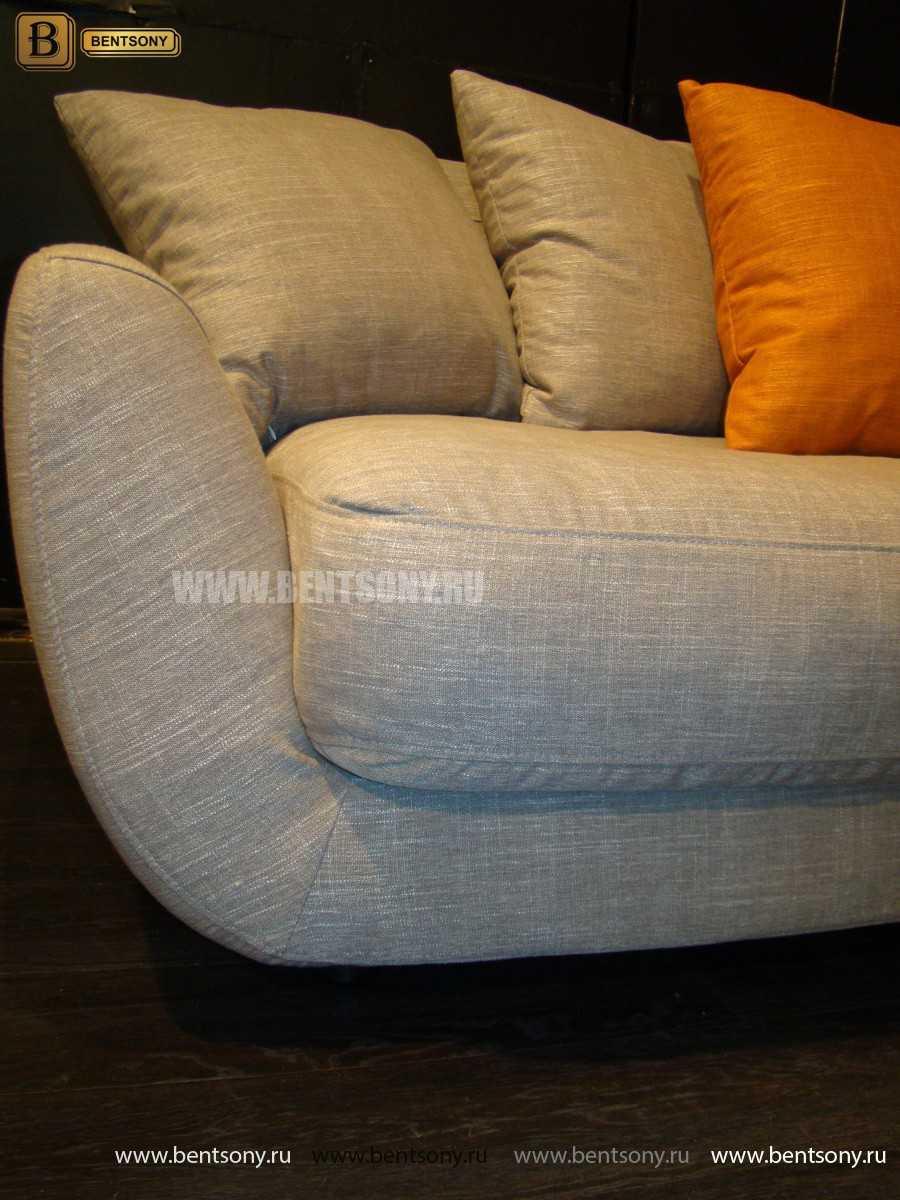 купить тканевый прямой диван Бласко