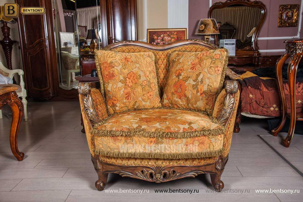 Гостиная Рамирес (Классика, Ткань, Массив дерева) каталог мебели с ценами