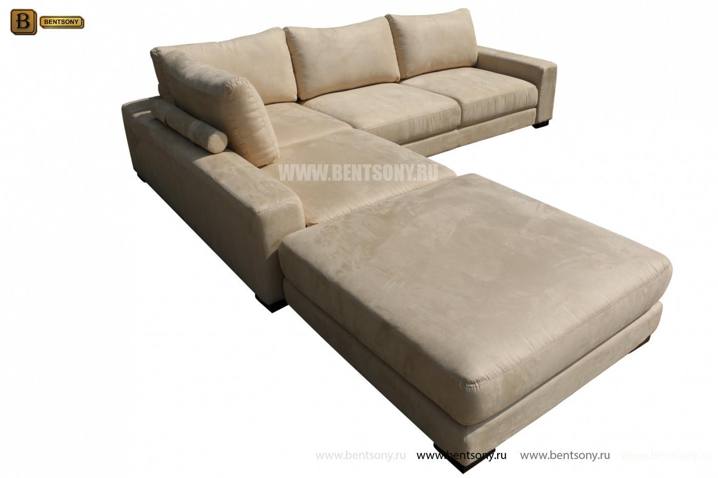 Мягкий угловой диван Луиджи спб