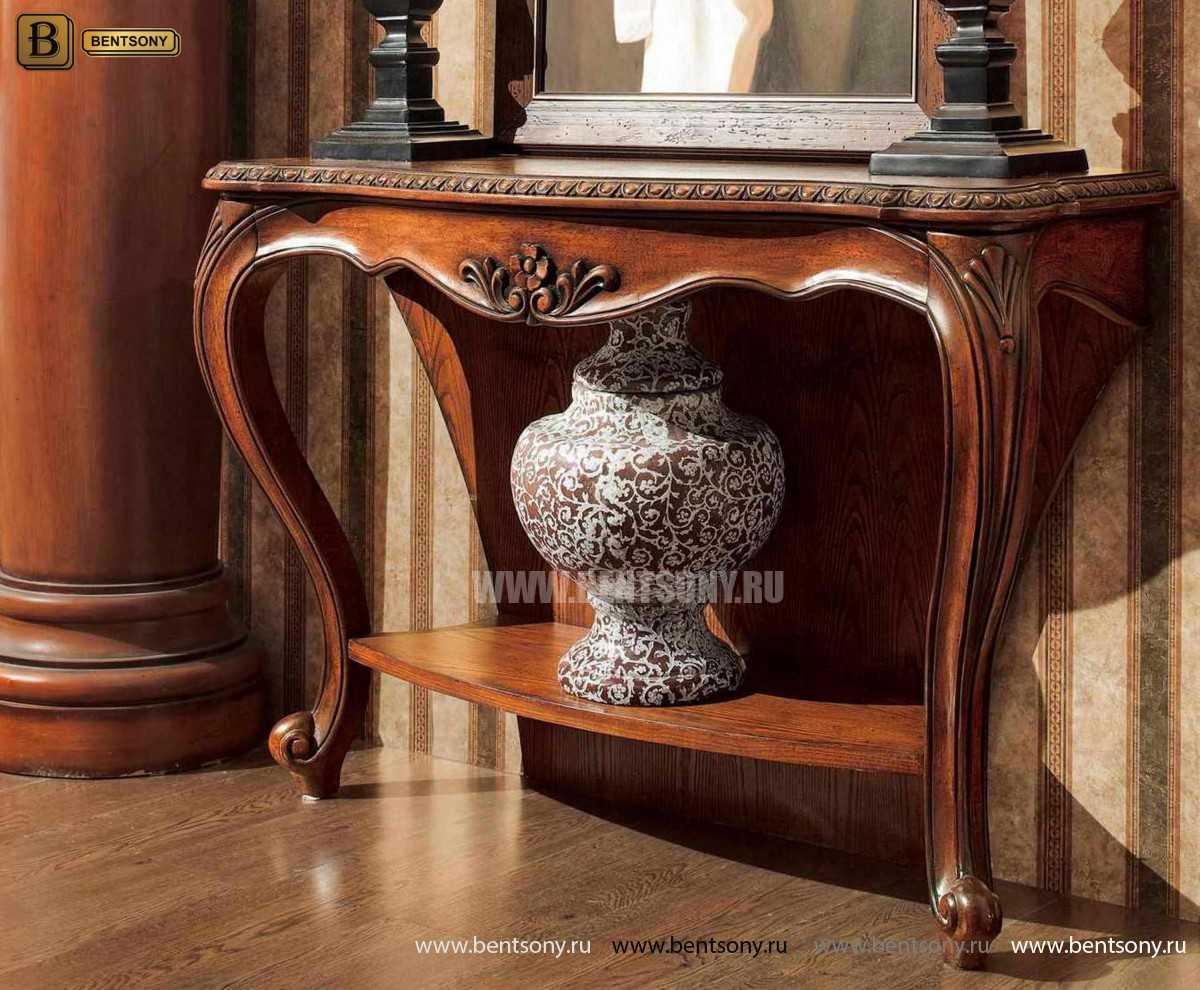Консоль Монтана (деревянная столешница, классика) каталог с ценами