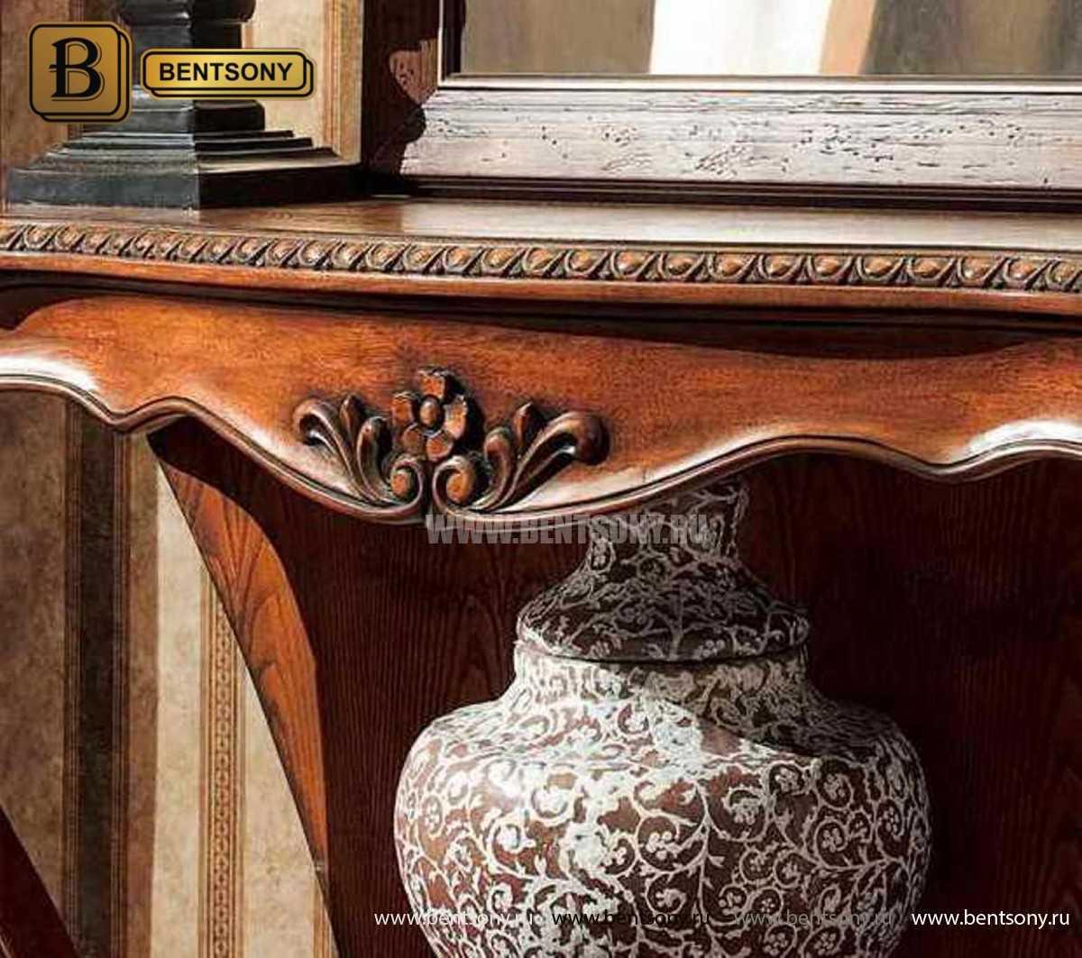 Консоль Монтана (деревянная столешница, классика) магазин Москва