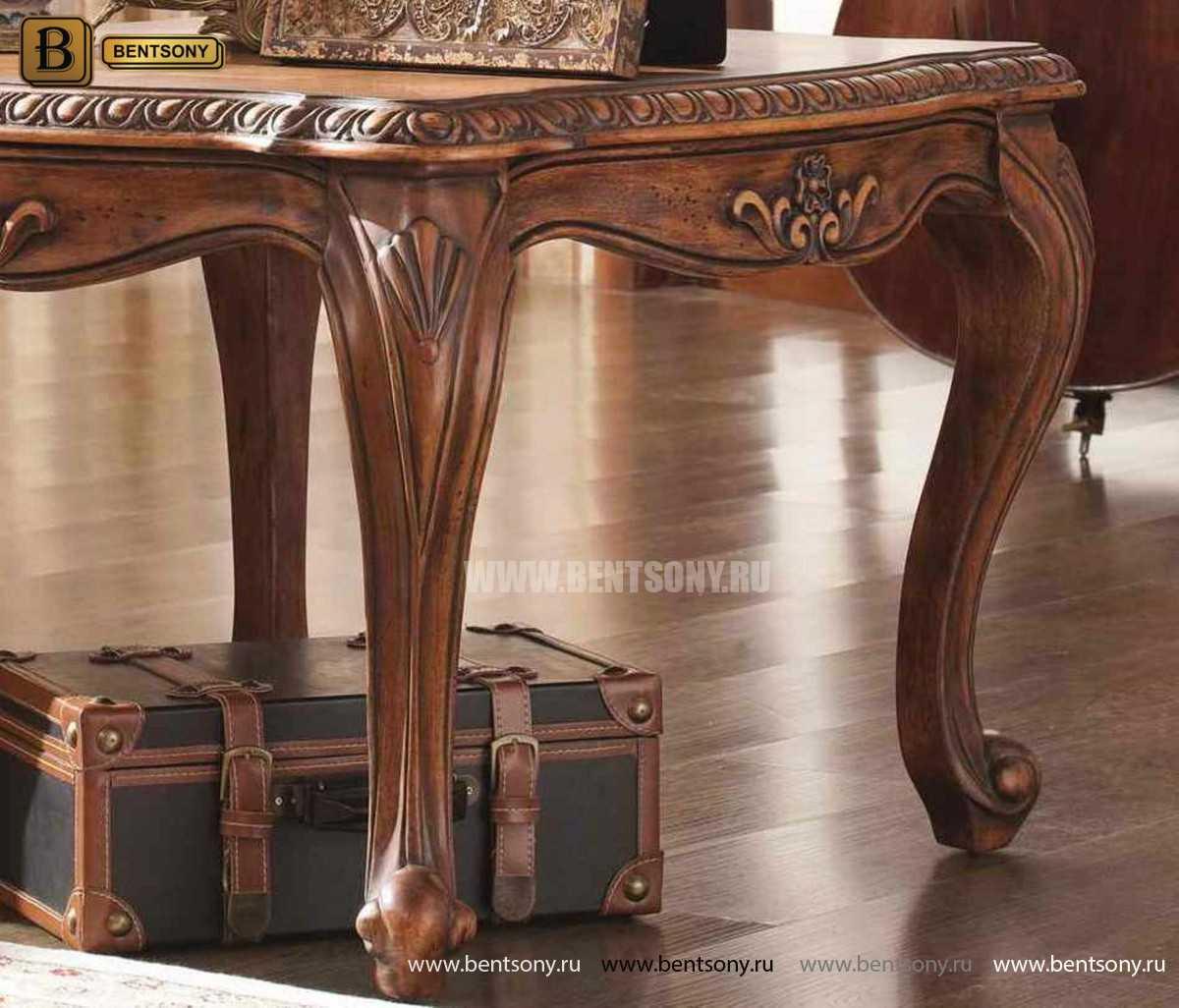 Стол журнальный Монтана А, чайный (Классика, массив дерева) распродажа
