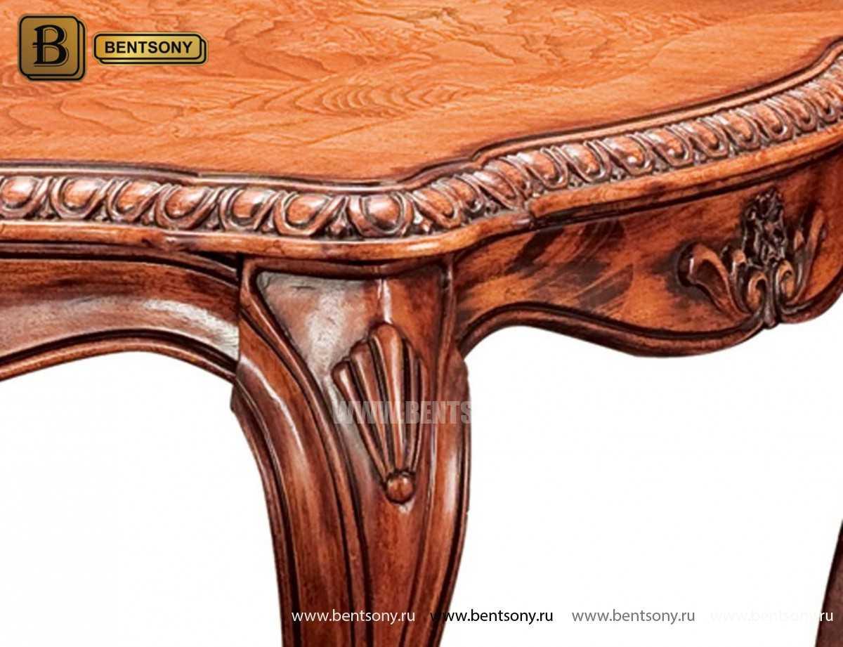 Стол журнальный Монтана А, чайный (Классика, массив дерева) каталог мебели