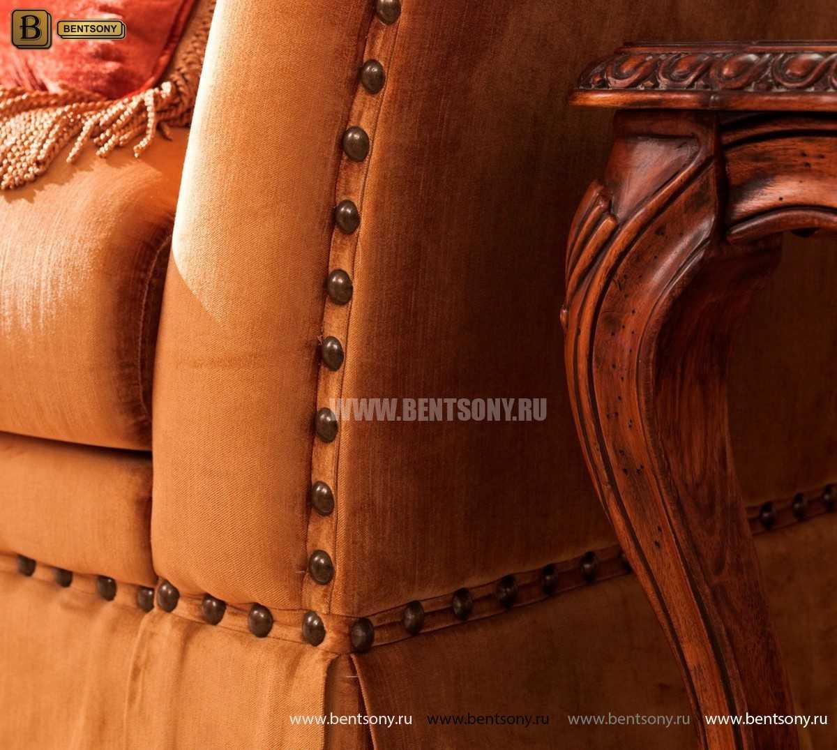 Стол журнальный Монтана А, чайный (Классика, массив дерева) для дома