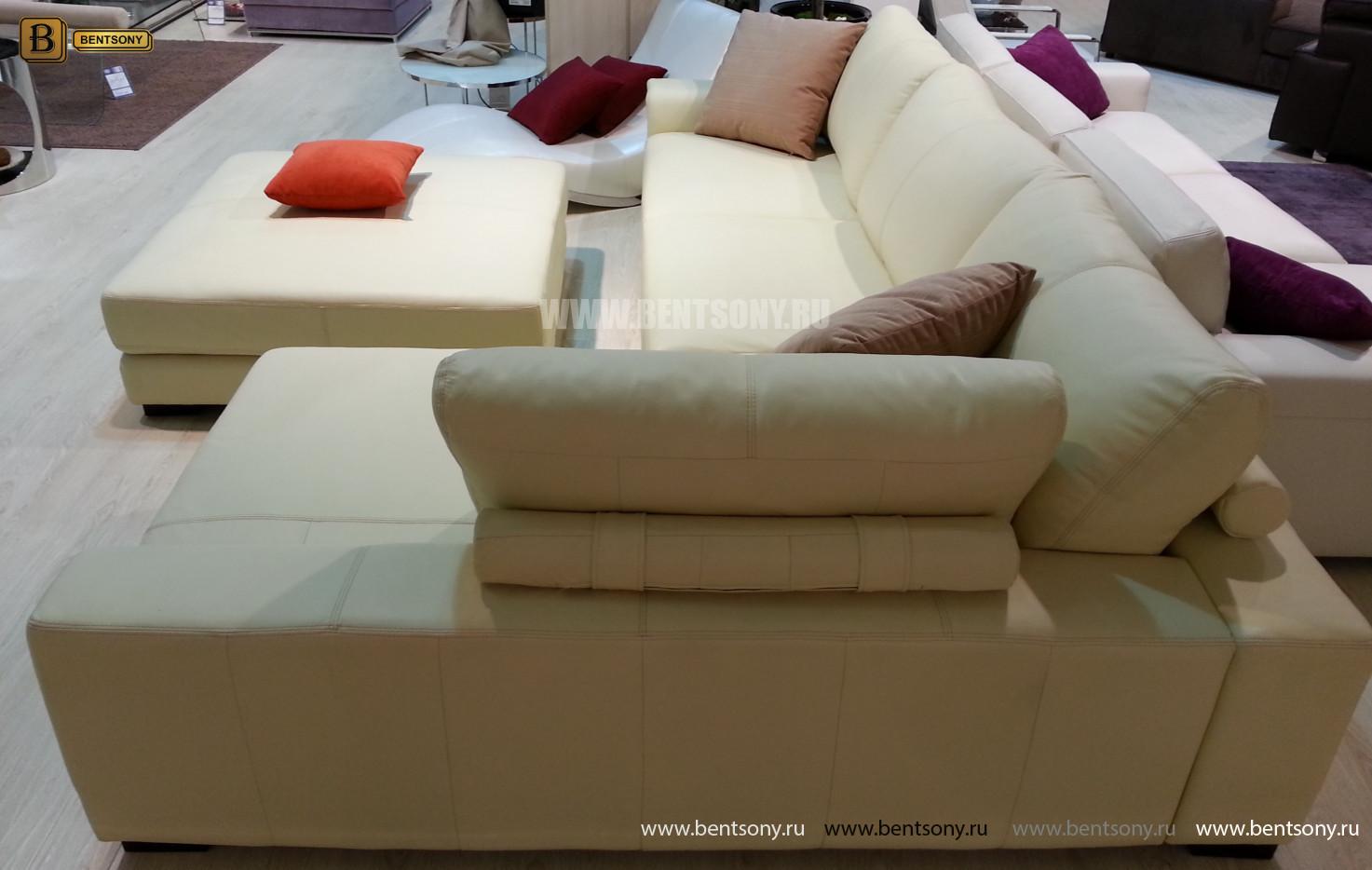 Мягкий угловой диван Луиджи москва
