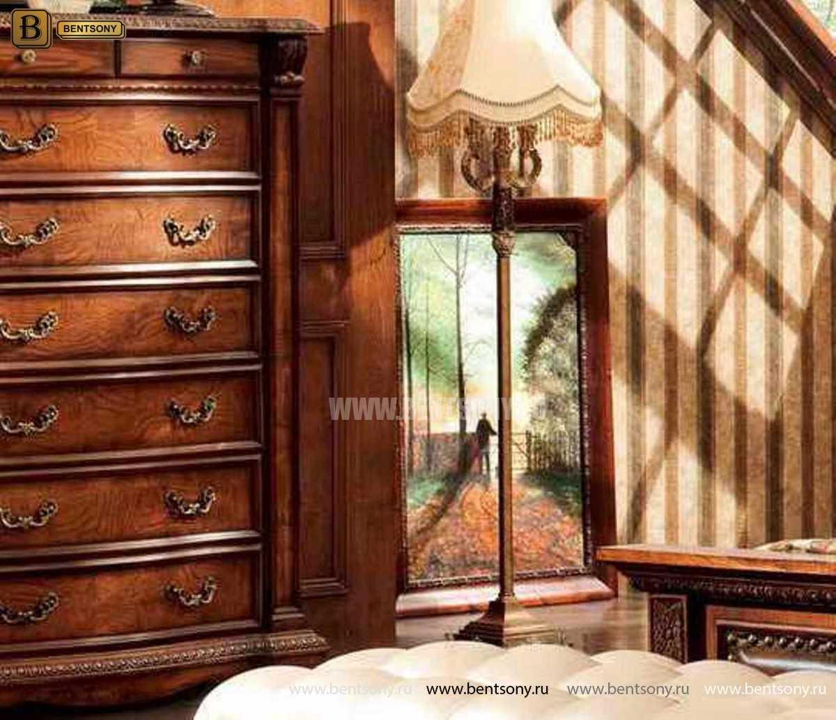 Комод Монтана Высокий (массив дерева, классика) для загородного дома