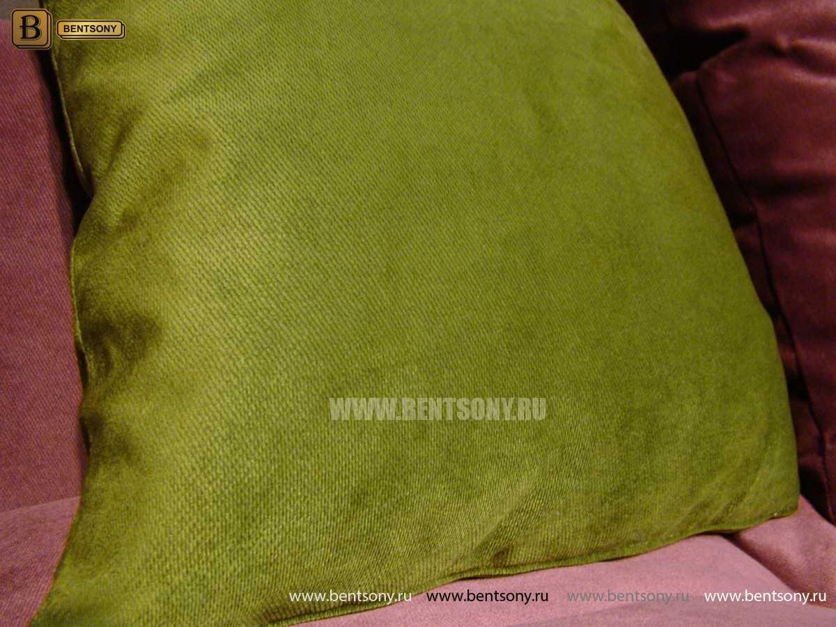 Подушка ткань велюр
