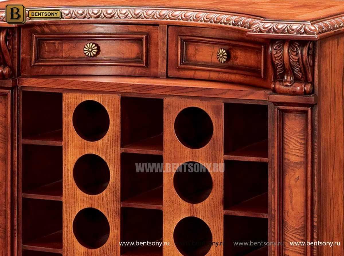 Винный шкаф Монтана (Массив дерева, классика) цена