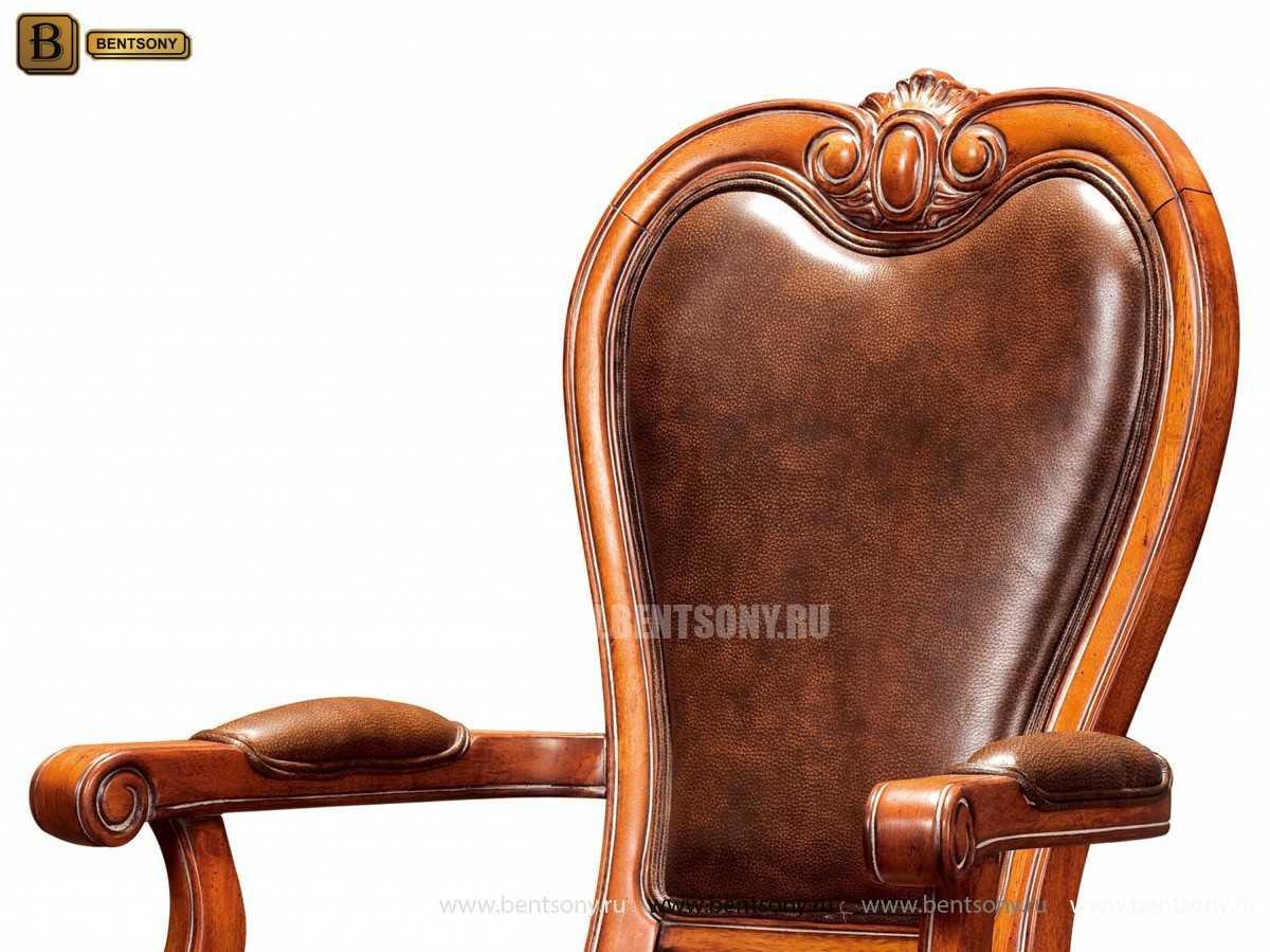 Стул Монтана А (Классика, натуральная кожа) каталог мебели с ценами
