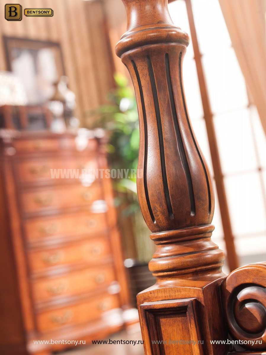 Кровать Монтана А (Классика, массив дерева) в интерьере