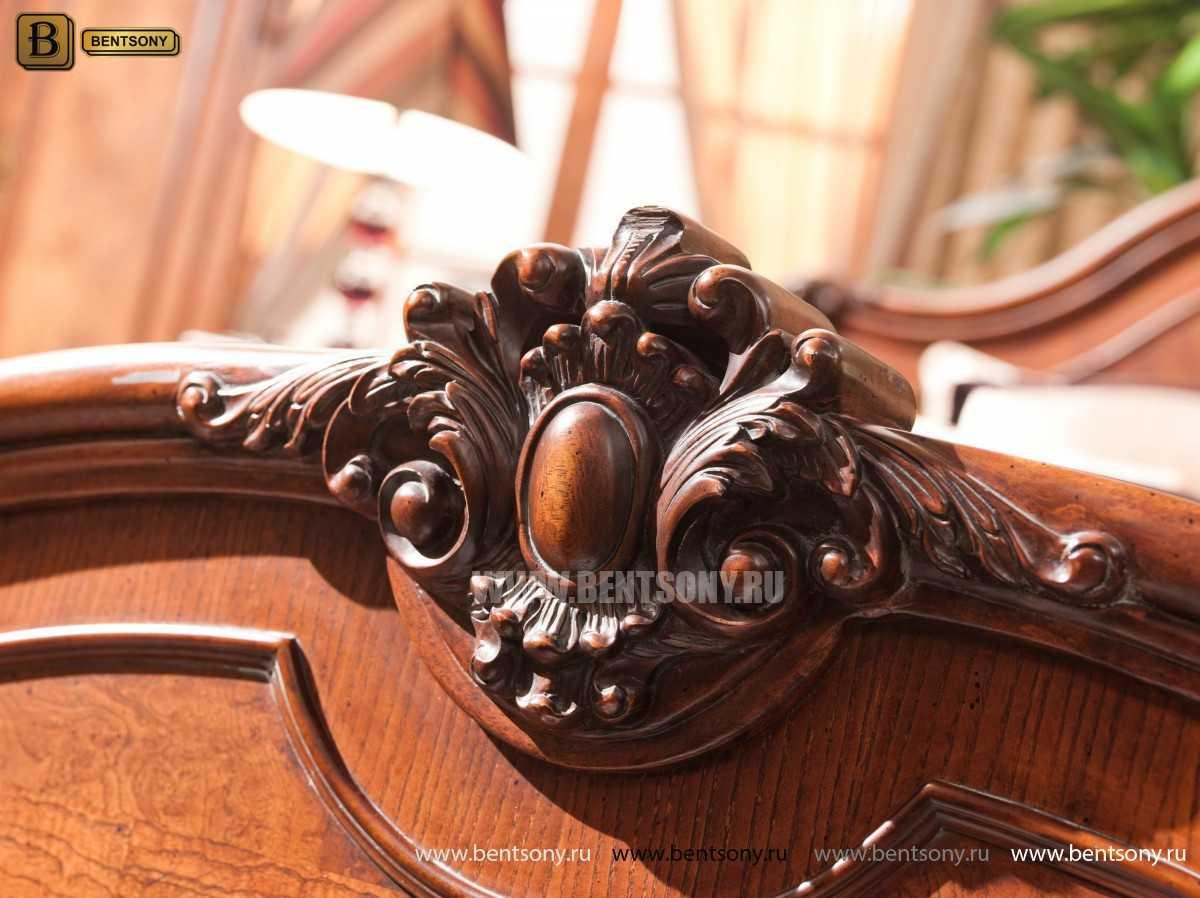 Кровать Монтана D для спальни (Классика, массив дерева) каталог мебели с ценами