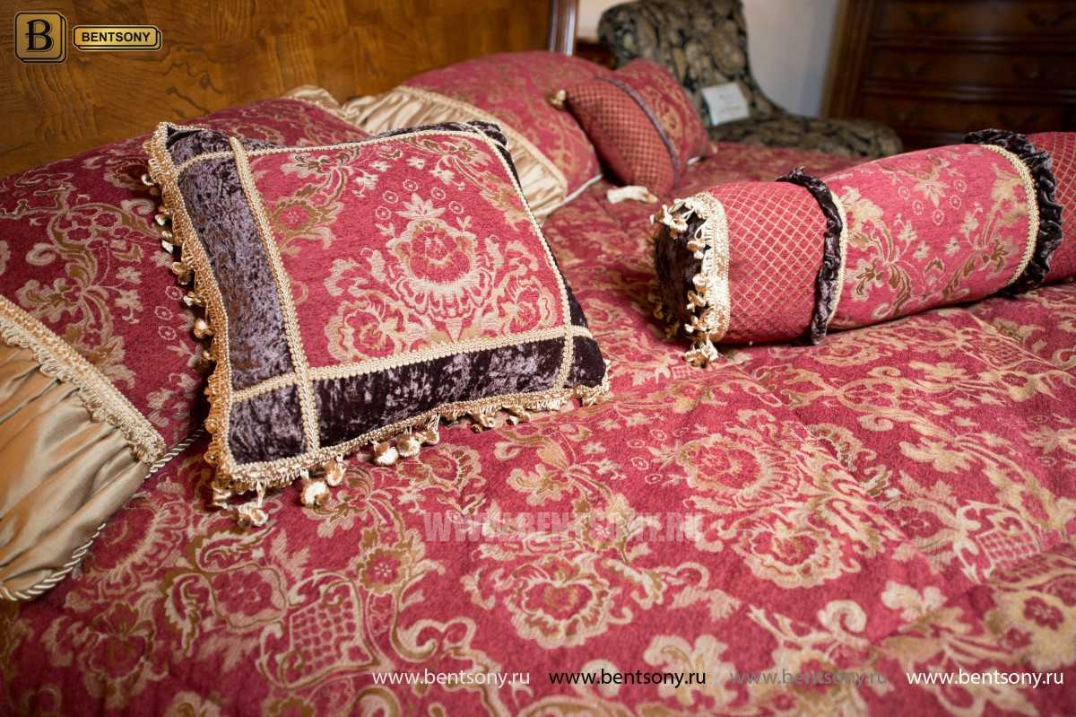 Кровать Монтана D для спальни (Классика, массив дерева) распродажа