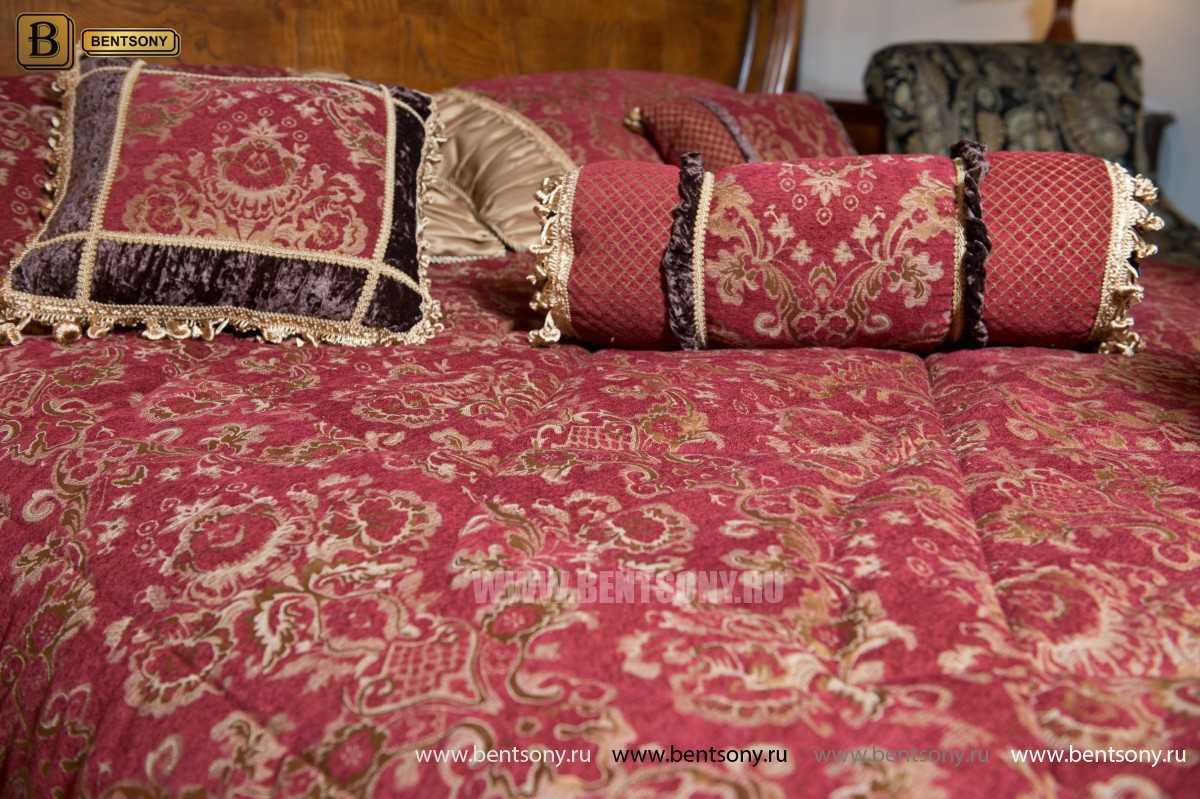 Кровать Монтана D для спальни (Классика, массив дерева) для квартиры