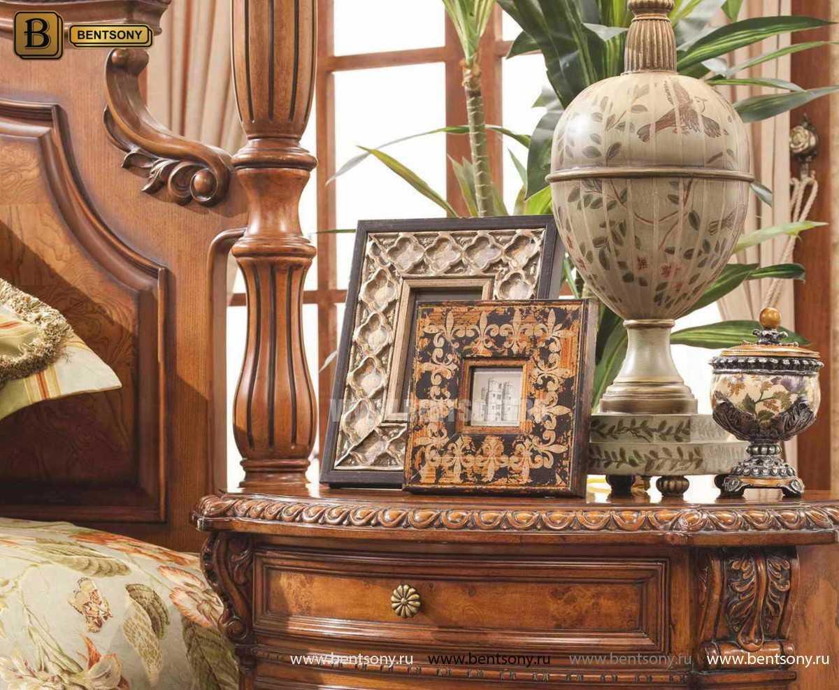 Кровать Монтана А (Классика, массив дерева) для квартиры