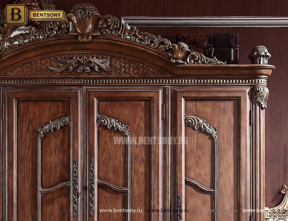 Шкаф 4-х дверный ДельМондо