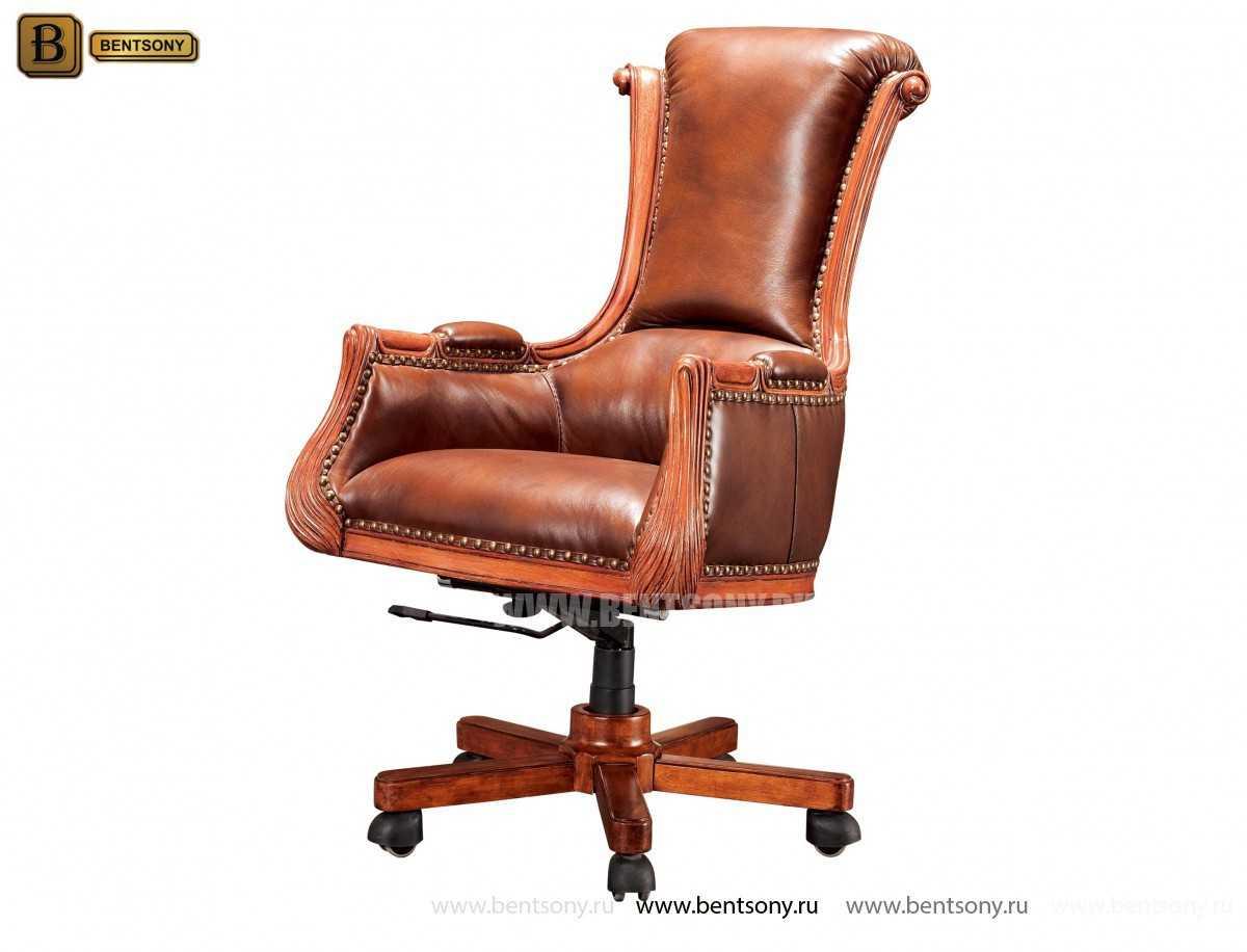 Кресло Кабинетное Монтана (Натуральная кожа)  цена