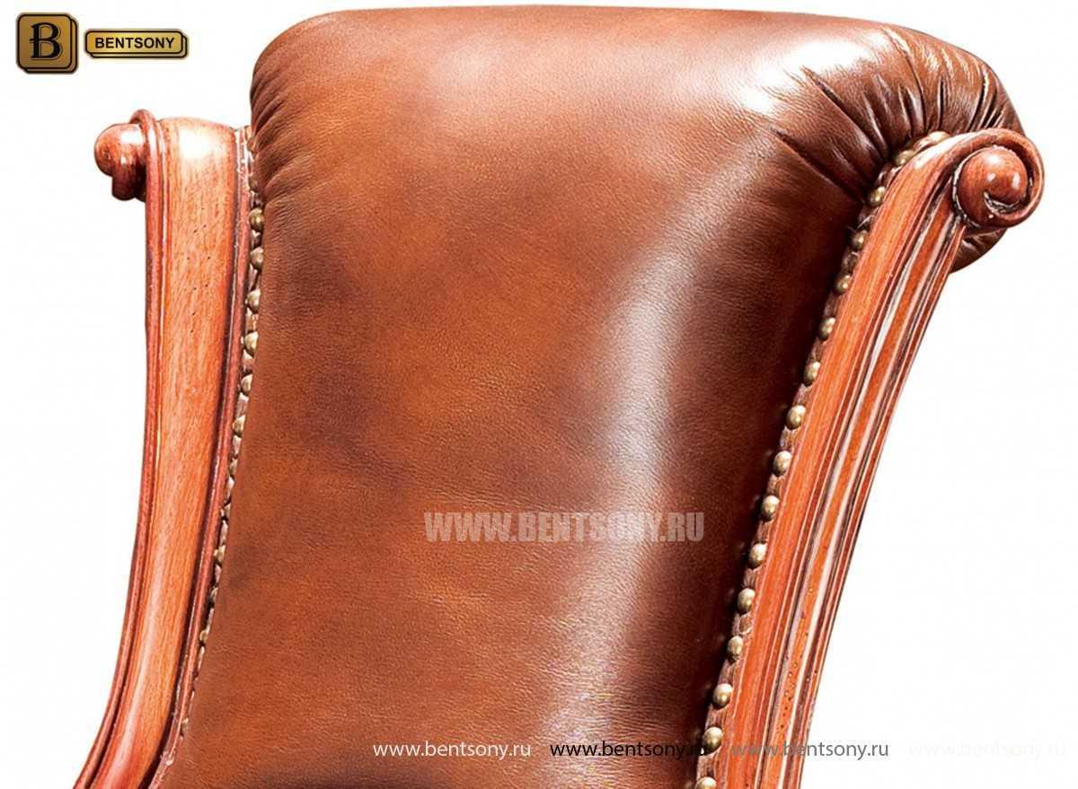 Кресло Кабинетное Монтана (Натуральная кожа)  распродажа