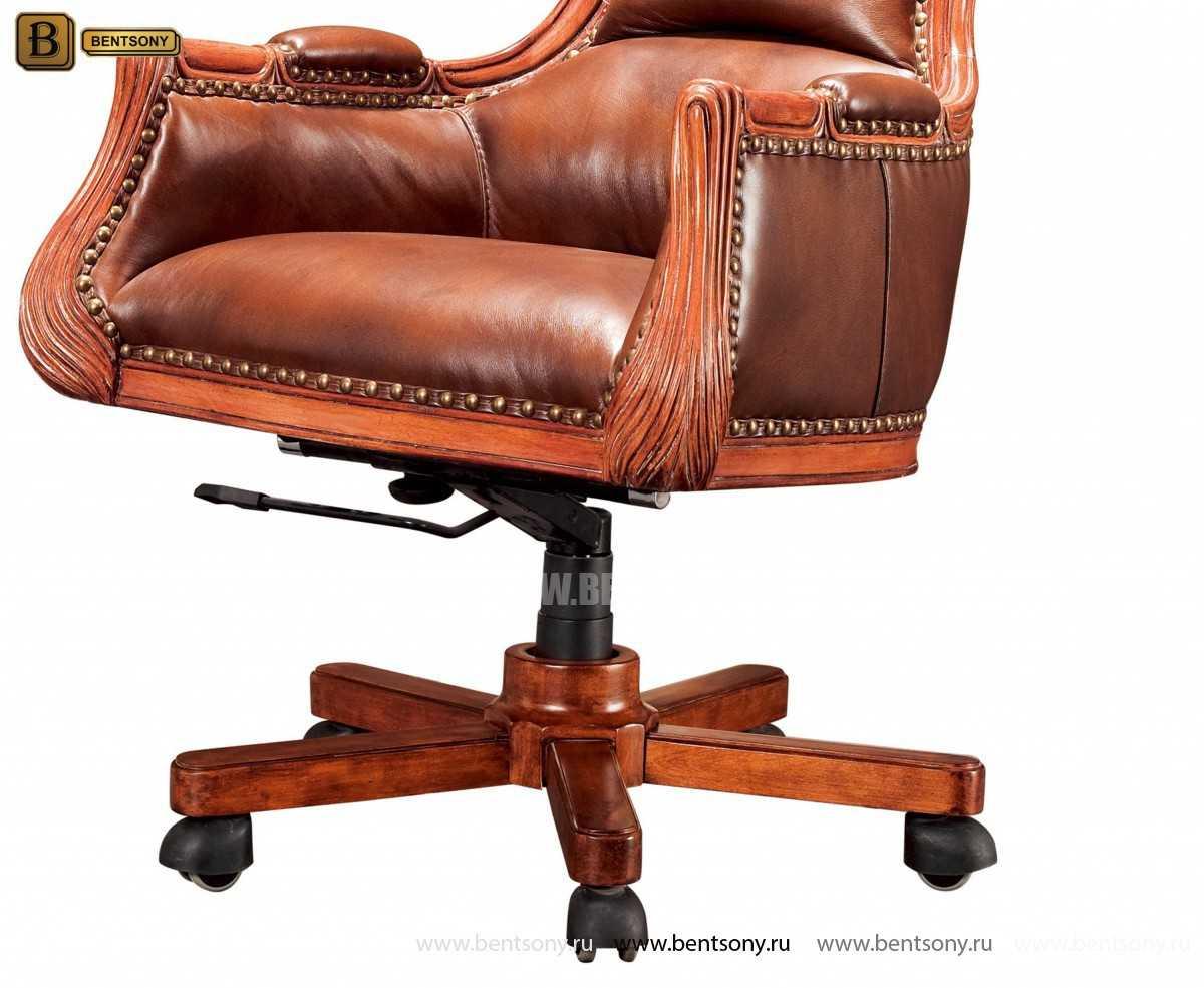 Кресло Кабинетное Монтана (Натуральная кожа)  каталог с ценами